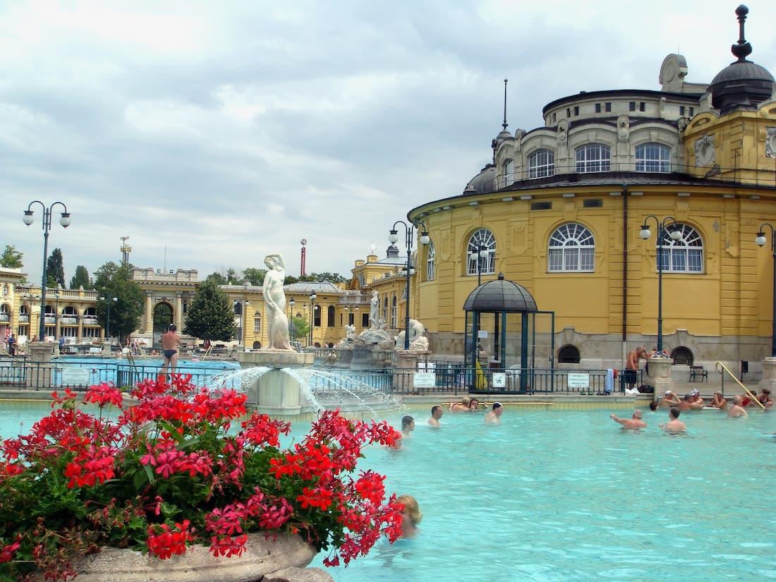 baños de Széchenyi en Budapest