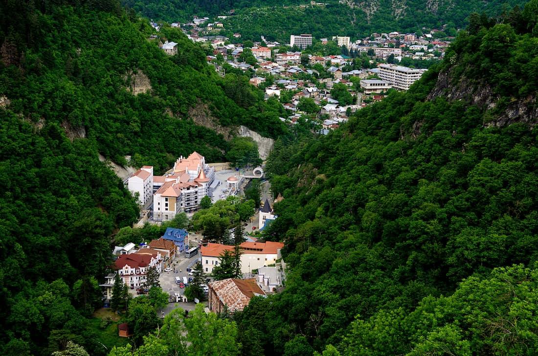 Bordshomi en Georgia