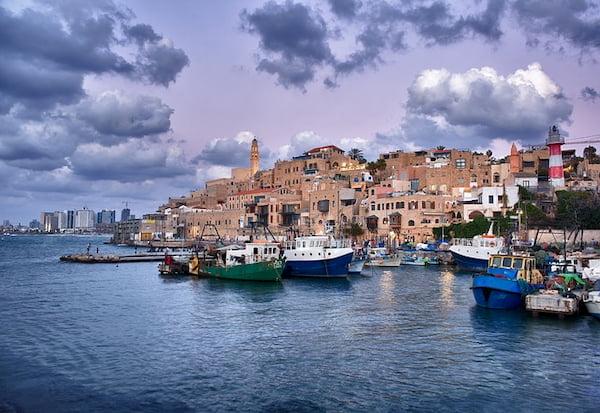 puerto de Jaffa en Israel