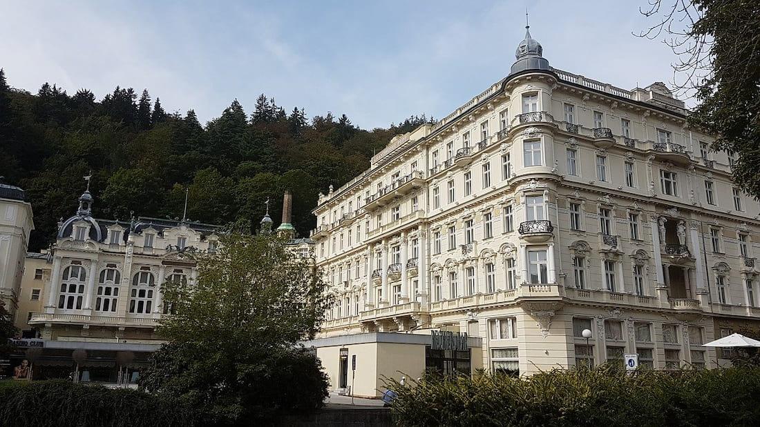 balneario de Karlovy Vary