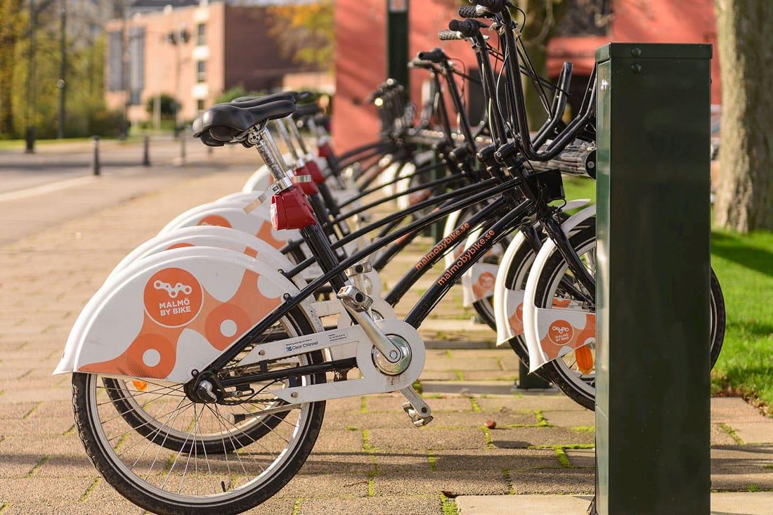 bicicletas en Malmö