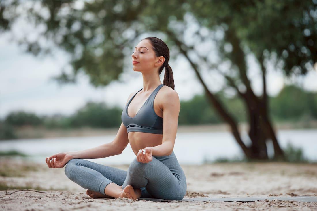 meditar y concentración