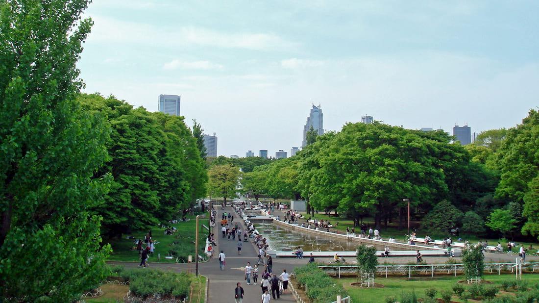 Yoyogipark en Tokio